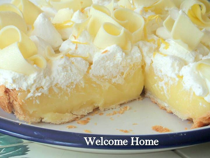 Lemon cream pie | PIE & TARTS | Pinterest