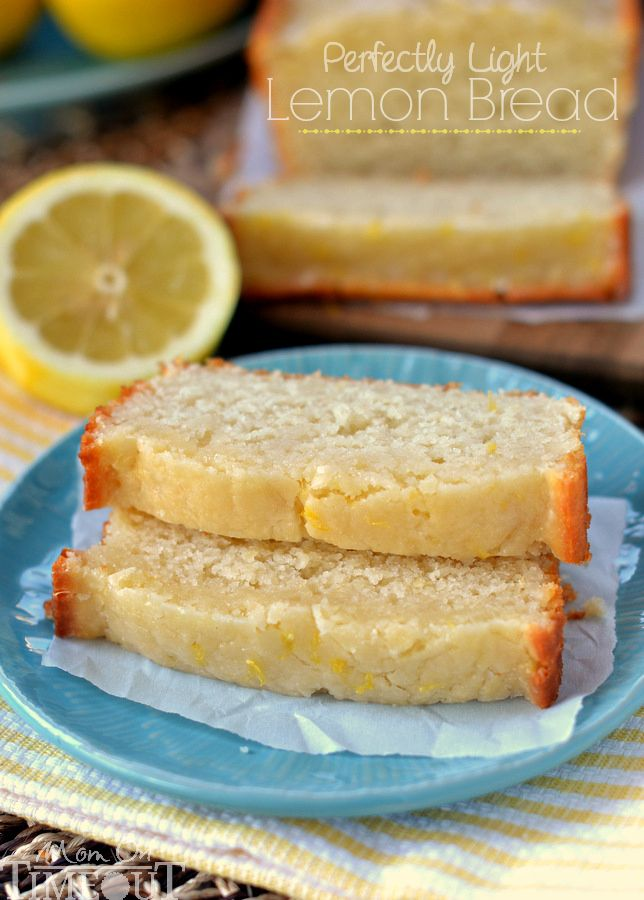Glazed Light Lemon Bread made with buttermilk and coconut oil ...