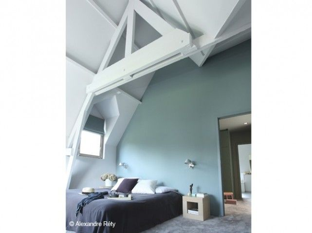 Combles Amenagement Chambre Pastel For The Home Pinterest