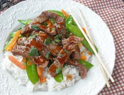 Mommy's Kitchen: Steak with Ginger Plum Barbecue Sauce http://www ...