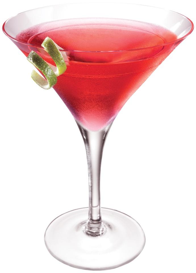 Pink martini 2 1 2 oz burnett 39 s pink for Pink cocktails with vodka