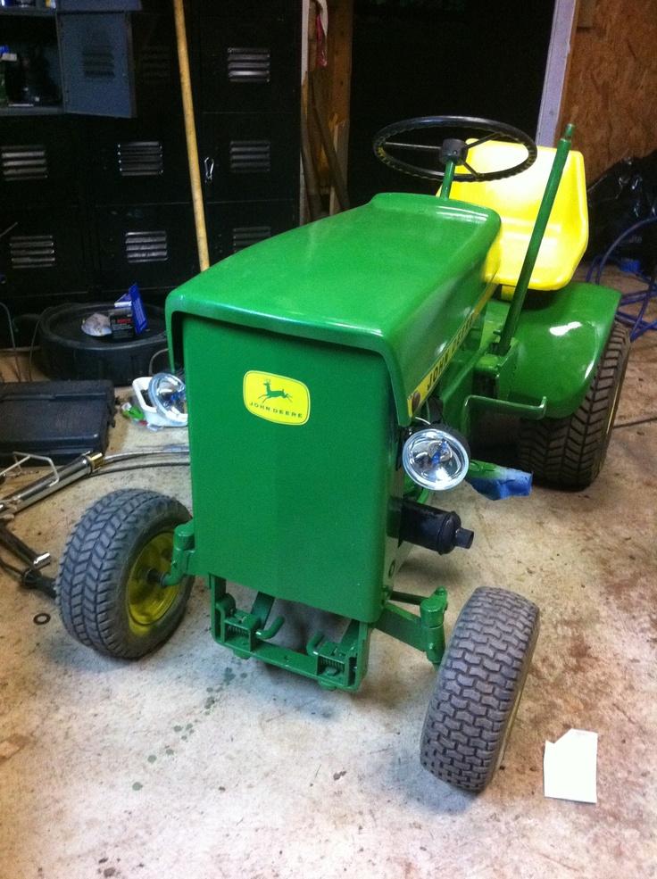 Oldest John Deere Lawn Tractor : John deere the first mower lawn mowers