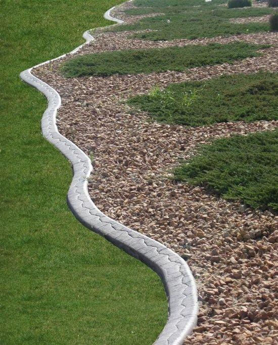 Cheap Garden Edging Ideas Photograph Cheap Landscaping Ide