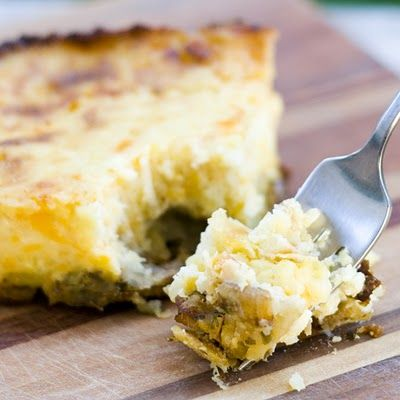 Twice-Baked Potato Pie Recipe — Dishmaps
