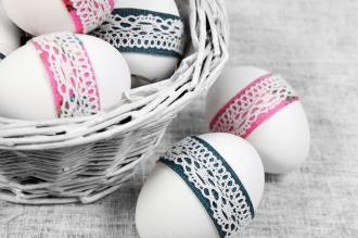 Ozdabianie jajek na Wielkanoc - inspiracje