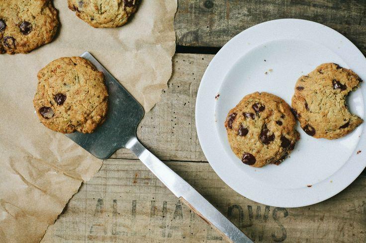 Rosemary-Chocolate Chip Cookies (vegan) | BAKE | Pinterest
