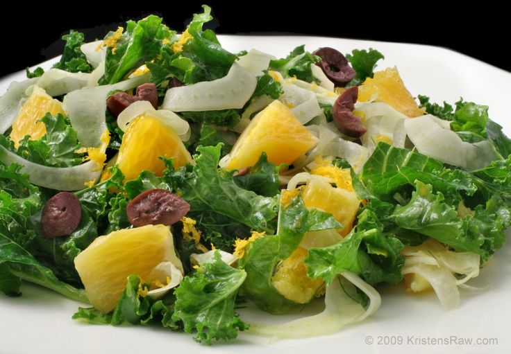 Orange and fennel salad | Salads | Pinterest