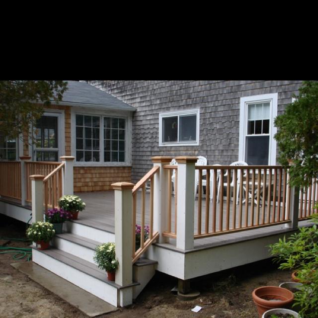 Beautiful deck home ideas pinterest