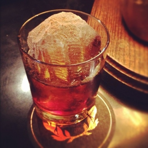 Day #1 of the Cocktail Advent Calendar at Rob Roy: The Walnut Old ...