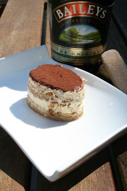 Irish Cream tiramisu | Desserts | Pinterest