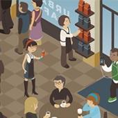 Urban Café Identity and Logo Design