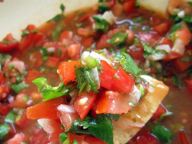 Salsa Fresca | After Gastric Bypass | Pinterest