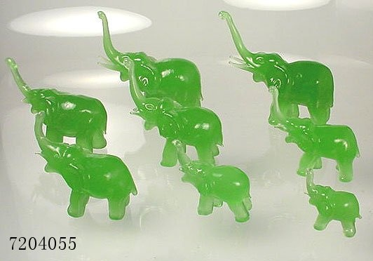 Good luck elephants rain drops on roses and whiskers on - Elephant meaning feng shui ...