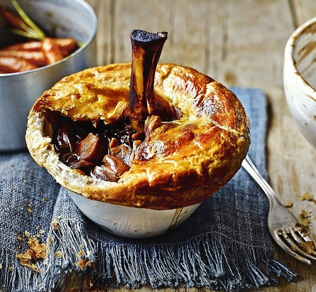 Janet's show stoppers: Desperate Dan lamb shank pies
