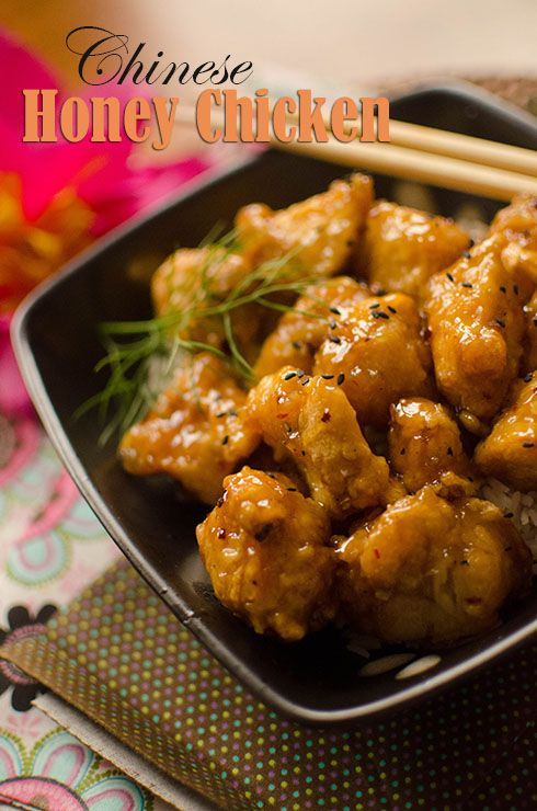 Recipe: Chinese Honey Chicken | Chinese - Food and Recipes | Pinterest