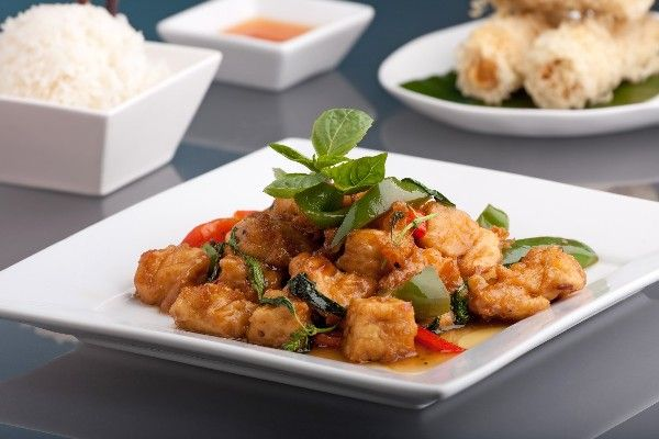 Lime-Curry Tofu Stir-fry: a tasty sweet & sour #recipe done in half an ...