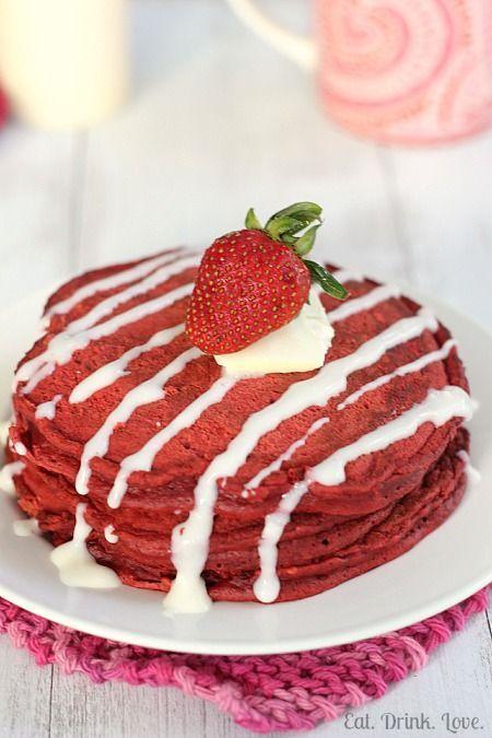 Red Velvet Pancakes. | SwEet tReaTs | Pinterest
