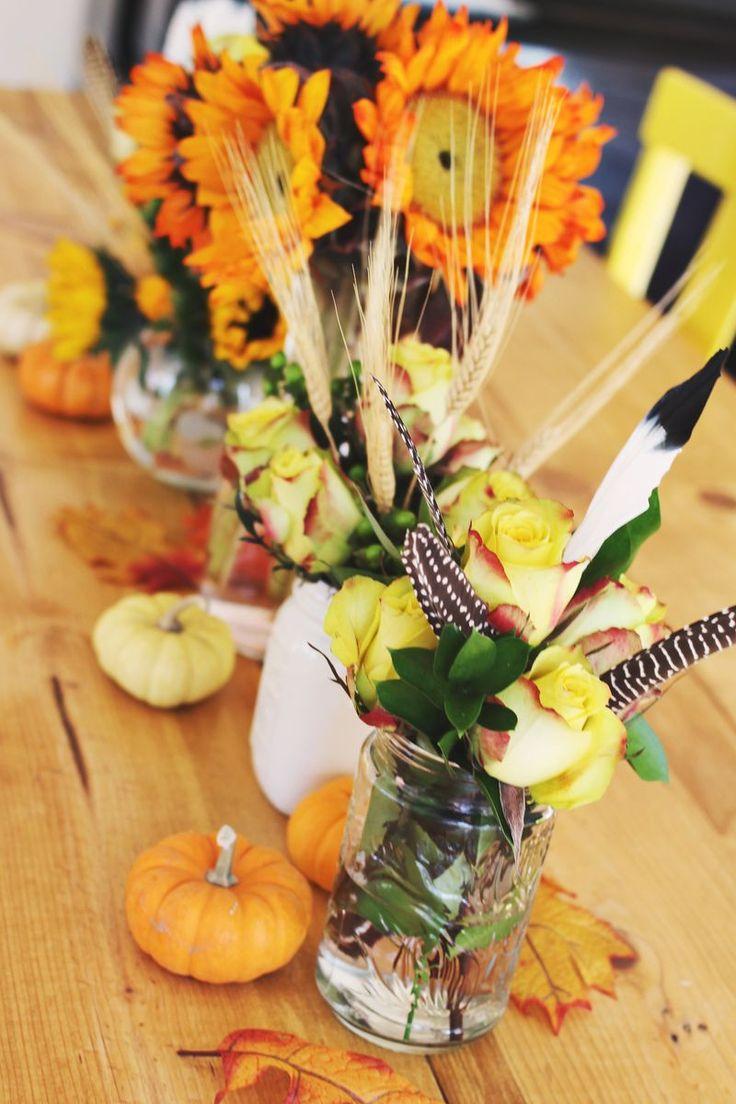 Autumn flower arrangements november pinterest Fall floral arrangements