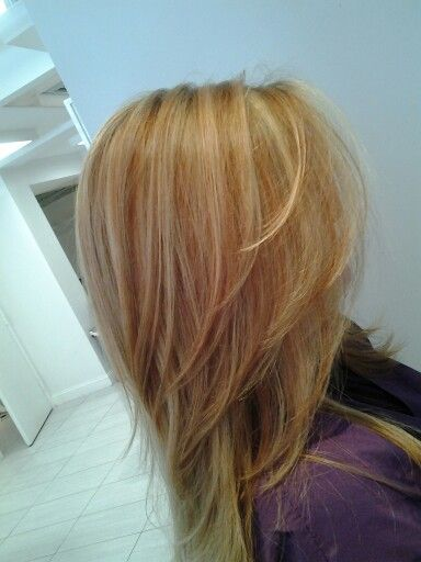 Strawberry Blonde highlights at Alex Anthony Salon | Hair ...