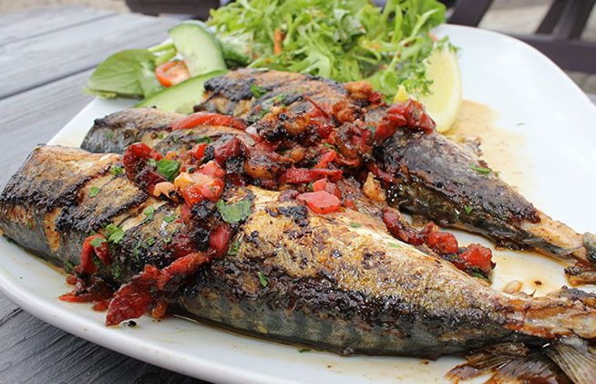 Oct | Mackerel | Stuffed Mackerel Recipe | Glorious Decadent Seafood ...