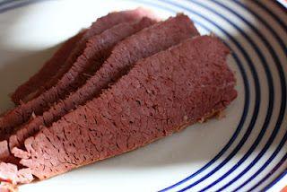 Dijon Corned Beef in Slow Cooker