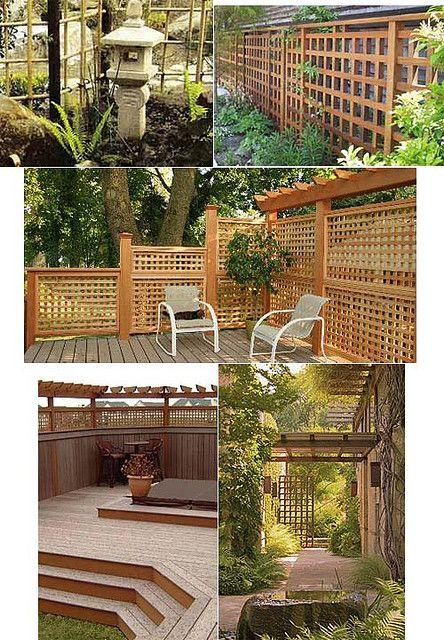 Fence examples small garden fence ideas pinterest for Examples of small garden design