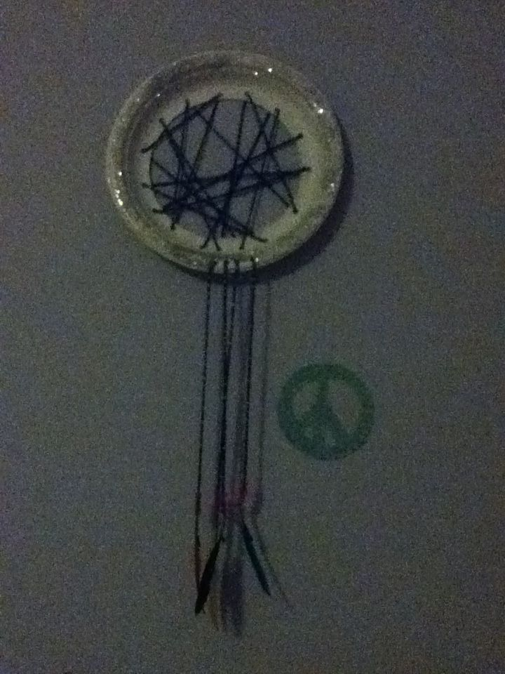 Cool dream catcher that 39 s easy to make bead crafts for Easy to make dream catchers