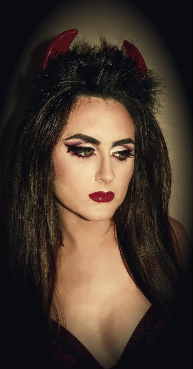 Makeup Ideas » Devil Makeup - Beautiful Makeup Ideas and Tutorials