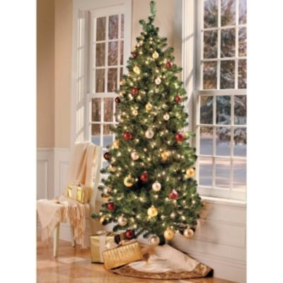 7 Ft Wall Christmas Tree With Stand