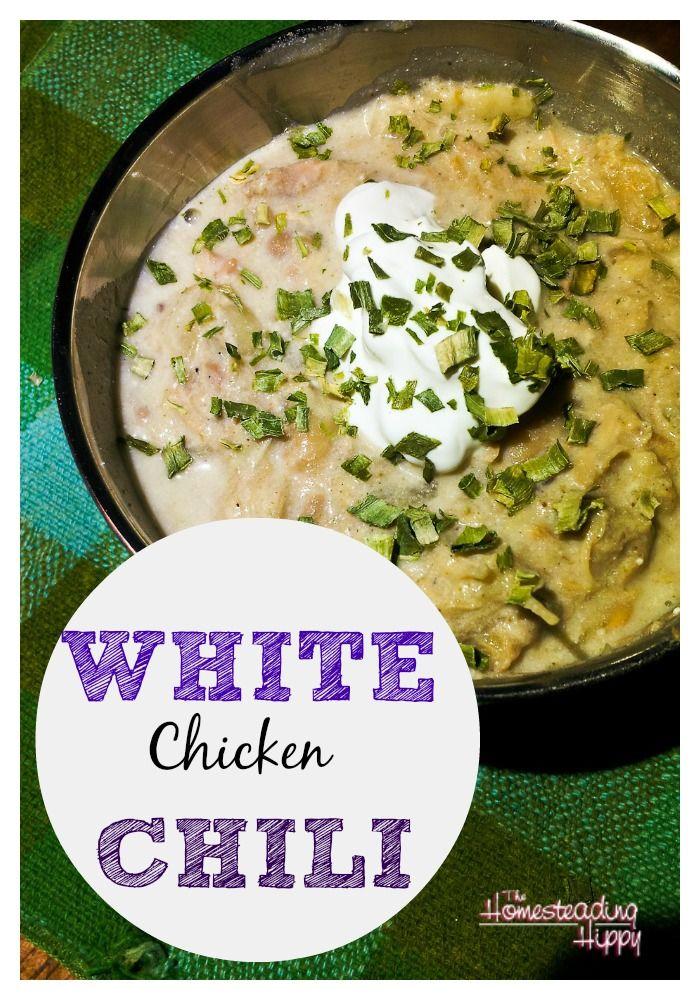 White Chicken Chili | Recipe