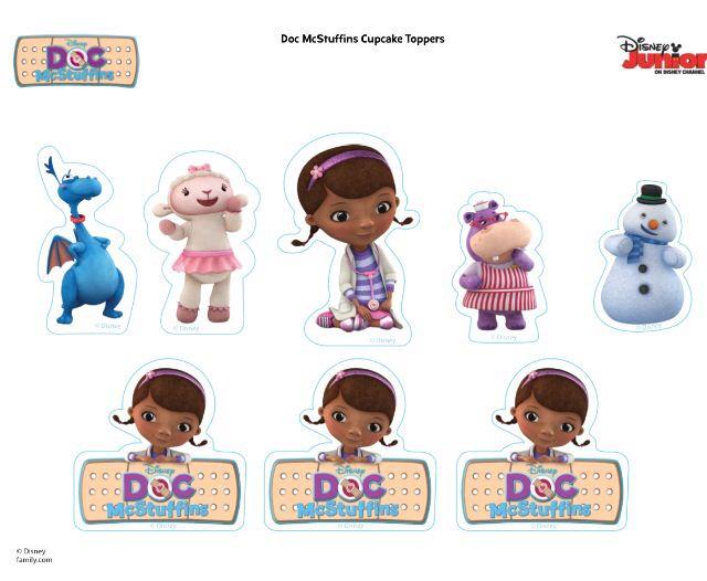 Doc mcstuffins characters | printables | Pinterest