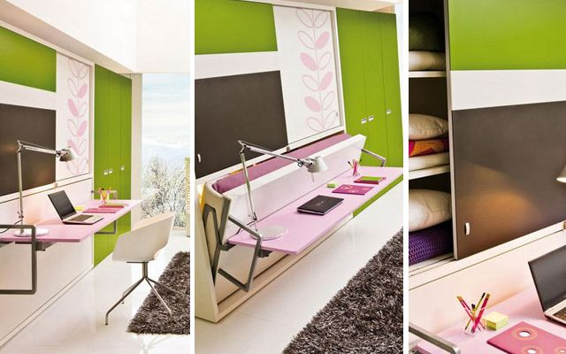 Cama escritorio