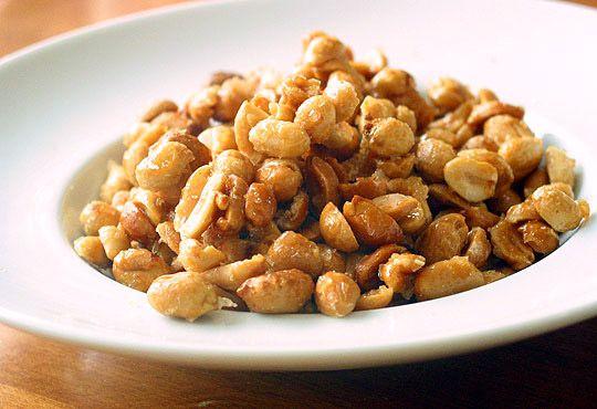 DIY Honey Roasted Peanuts