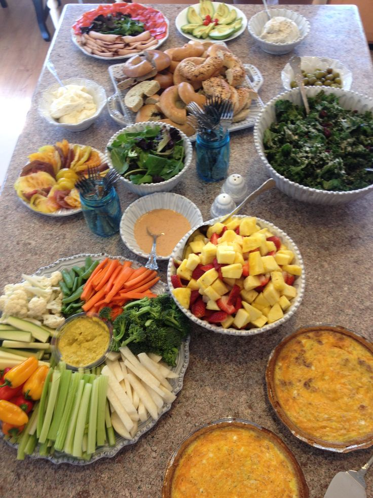 baby shower brunch party food baby shower ideas pinterest