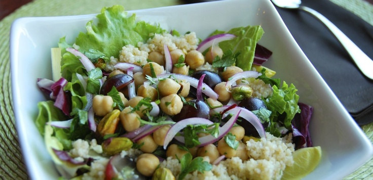bulgar chickpea pistachio salad | Nuts over Nuts! | Pinterest