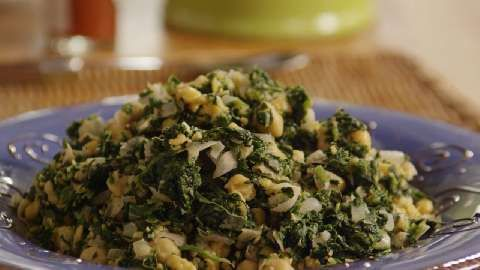 Spinach with Garbanzo Beans Allrecipes.com