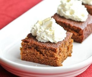 Gingerbread Squares | Food | Pinterest