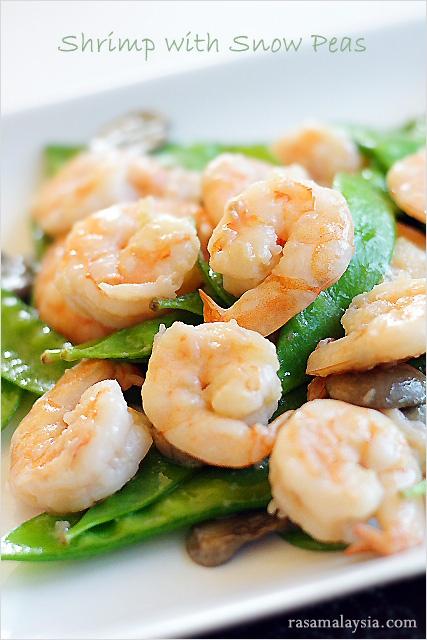 Shrimp with Snow Peas Recipe
