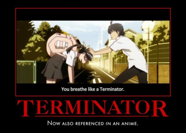 terminator anime meme | Gaming and anime comedy | Pinterest