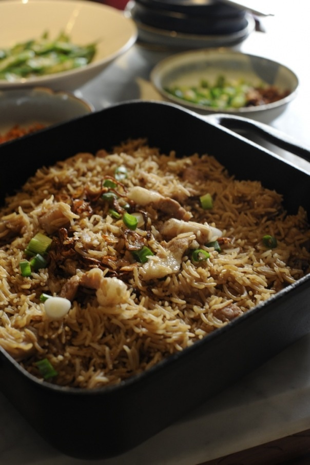 yam rice | warm and hearty | Pinterest