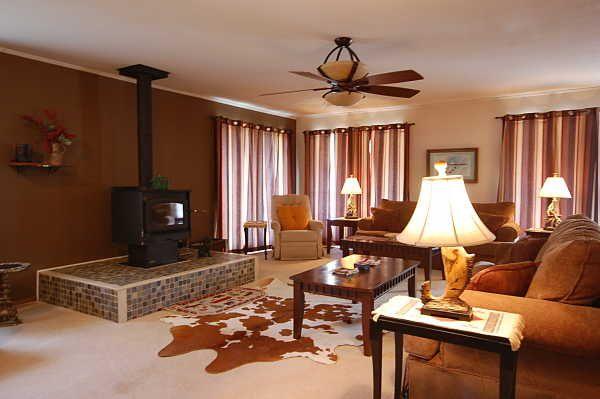 Living room wood stove decor ideas pinterest - Wood stove ideas living rooms ...
