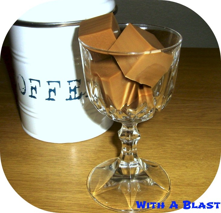 With A Blast: Coffee Jello's | I Need Coffee! | Pinterest