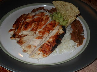 Margarita Grilled Chicken, now this is my kind of recipe!