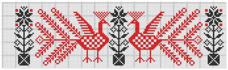 Русские народные узоры для вышивки крестом