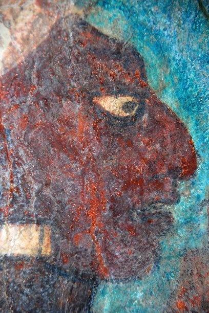 Bonampak mayas pinterest for Bonampak mural painting