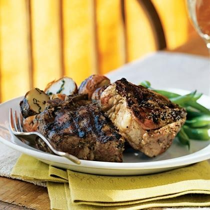 Herbes de Provence-Crusted Lamb Chops by Cooking Light