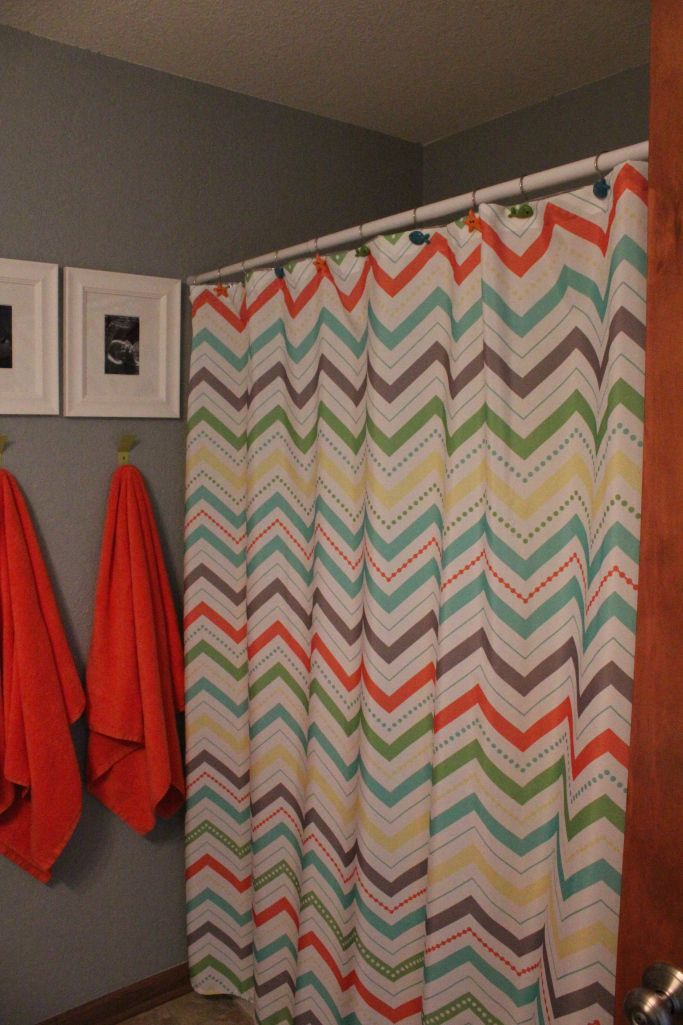 Curtains Ideas target kids shower curtain : Gender-neutral kids bathroom re-do. | future remodeling | Pinterest