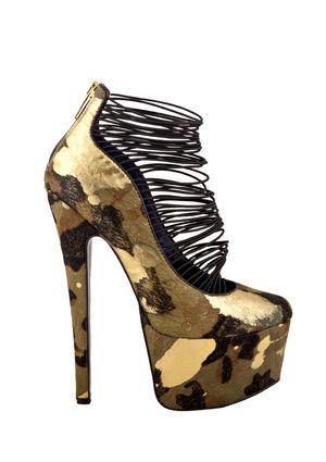 LONDON TRASH Ceres....appropriately named! Hooker shoes