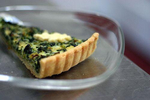 spinach quiche | EGG Recipes | Pinterest