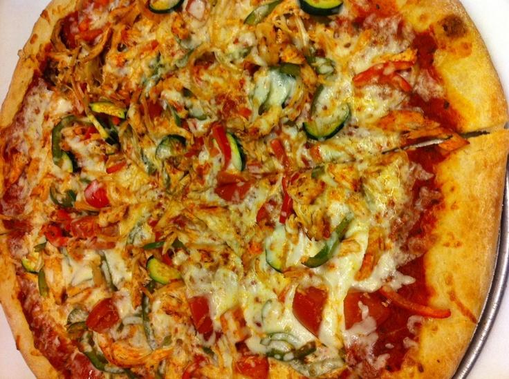 Chicken Fajita Pizza | Recipes | Pinterest